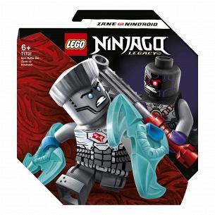 Конструктор Lego Ninjago Зейн против Ниндроида 71731