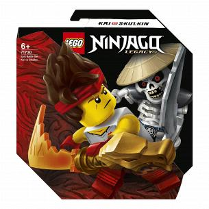 Конструктор Lego Ninjago Кай против Скалкина 71730