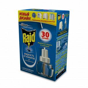 Рідина від комарів для фумігатора 30 ночей Raid