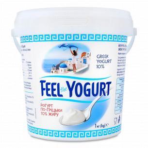 Йогурт Feel the Yogurt по-грецьки без наповнювача 10%