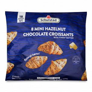 Круассаны-мини Schulstad с ореховой начинкой и шоколадными кусочками