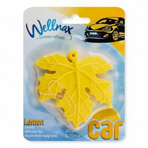 Ароматизатор для автомобіля Wellnax Лимон
