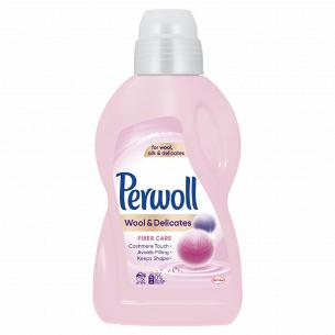 Средство для стирки Perwoll для шерстяных и деликатных тканей