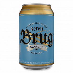 Пиво Keten Brug Blanche Elegant ж/б