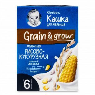 Каша рисово-кукурузная Gerber молочная