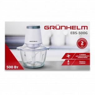 Блендер Grunhelm подрібнювач EBS-500G