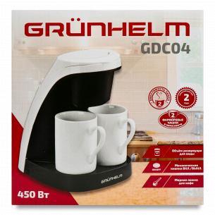 Кавоварка Grunhelm GDC04 + чашки