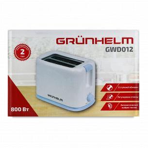 Тостер Grunhelm GWD012 білий