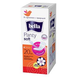 Прокладки гигиенические ежедневные Bella Panty Soft Deo Fresh New
