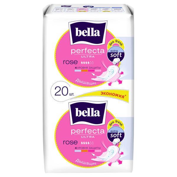 Прокладки гигиенические Bella Perfecta Rose Deo Fresh