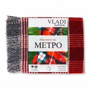 Плед вовняний Vladi Метро...