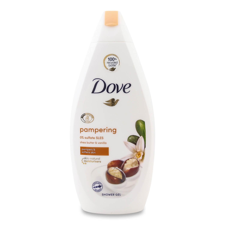 Крем-гель для душа Dove Масло ши и пряная ваниль
