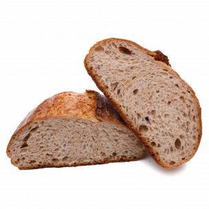 Хліб подовий Берлінський з висівками та медом кг Fozzy на заквасці
