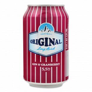 Напиток слабоалкогольный Long Drink Gin Cranberry