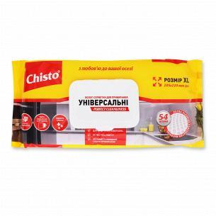 Салфетки влажные Chisto для уборки универсальные