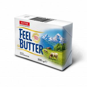 Масло солодковершкове Feel the Butter 82%