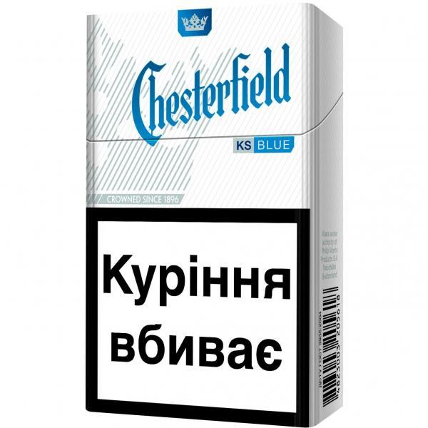 сигареты честер синие купить