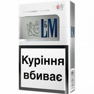 Сигареты L&M Silver Label