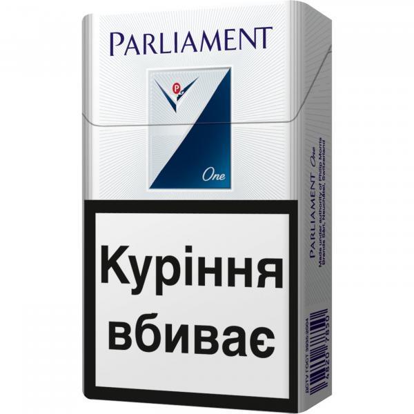сигареты parliament one купить в