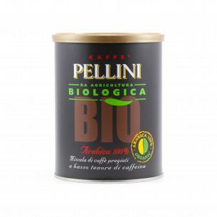 Кофе молотый Pellini BIO Arabica100% Tin натур ж/б