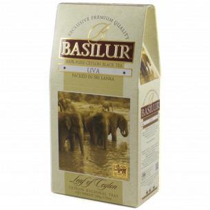Чай черный Basilur Uva цейлонский