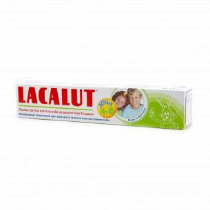 Паста зубная детская Lacalut 4-8 лет