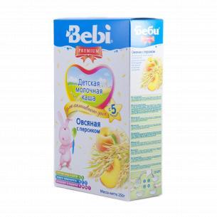 Каша овсяная Bebi Premium молочная с персиком