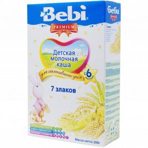 Каша Bebi Premium 7 злаков
