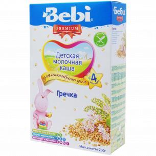 Каша гречневая Bebi Premium молочная