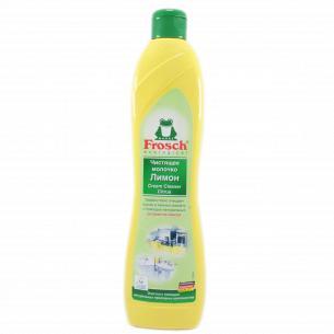 Молочко чистящее абразивное FROSCH Лимон
