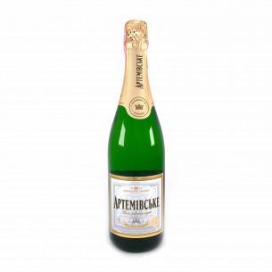 Шампанское АЗШВ Артемовское белое полусладкое