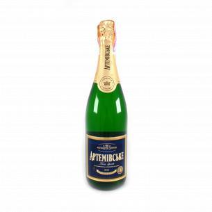 Шампанское АЗШВ Артемовское белое брют