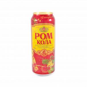 Напиток слабоалкогольный Оболонь Ром-кола