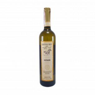 Вино Картули Вази Мерани белое полусухое
