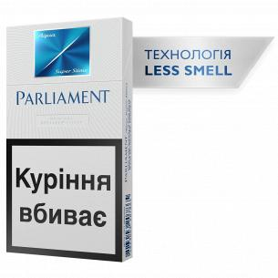 Сигареты Parliament Aqua Super Slims