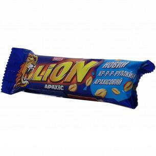 Батончик Nestle Lion с арахисом