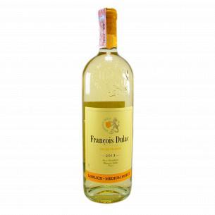 Вино Francois Dulac VdP белое полусладкое