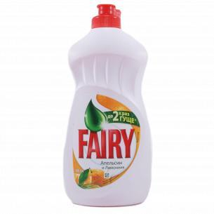 Средство для мытья посуды Fairy Plus Апельсин
