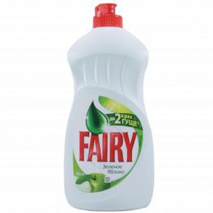 Средство для мытья посуды Fairy Plus Яблоко
