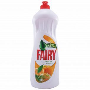 Средство для мытья посуды Fairy Plus Апельсин 1л