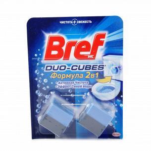 Кубики для унитаза Bref Актив очищающие