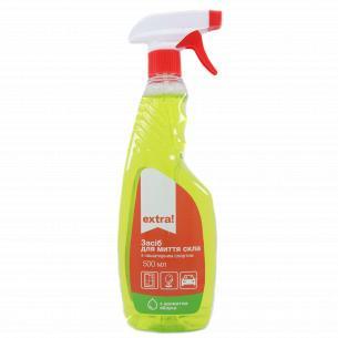 Средство для мытья стекол Extra! с ароматом яблока