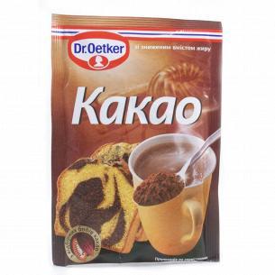 Какао-порошок Dr.Oetker добавка для выпечки