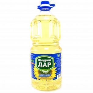 """Масло подсолнечное """"Щедрий Дар"""" рафинированное"""
