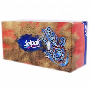 Салфетка Maxi Selpak 3-слойная в коробке