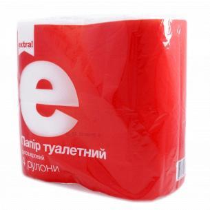 Бумага туалетная Extra! целлюлозная 2-слойная