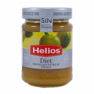 Джем Helios из зеленых слив без сахара