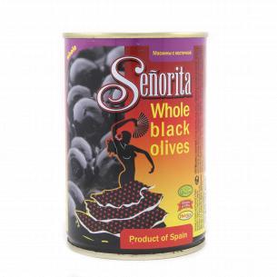 Маслины Senorita Испанские с косточками