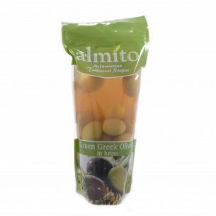 Оливки Almito зеленые с косточкой