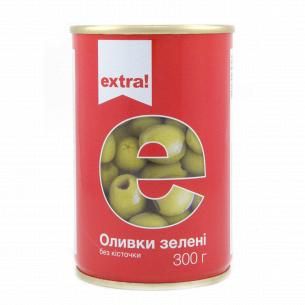 Оливки Extra! зеленые без косточки